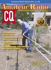 CQ Amateur Radio - September 2015