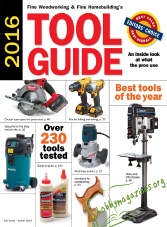 Fine Woodworking Tool Guide 2016
