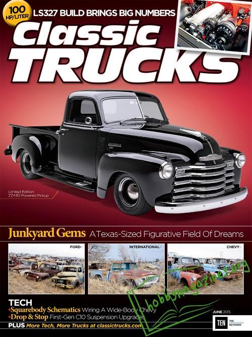Classic Trucks June 2015 187 Hobby Magazines Free
