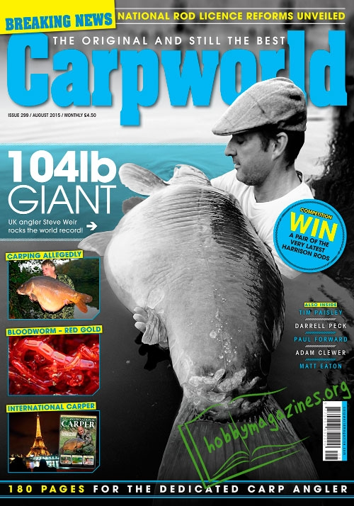 Carpworld - August 2015