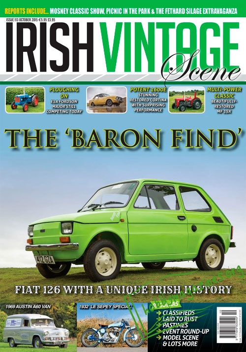 Irish Vintage Scene - October 2015