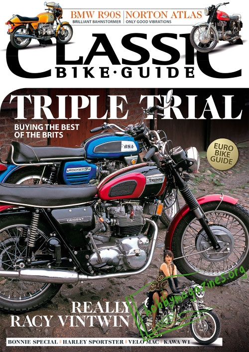 Classic Bike Guide - September 2015