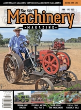 The Old Machinery Magazine - June/July 2015