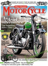 The Classic MotorCycle - June 2015