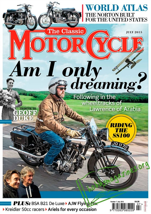 The Classic MotorCycle - July 2015