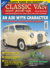 Classic Van and Pick-Up – March 2015