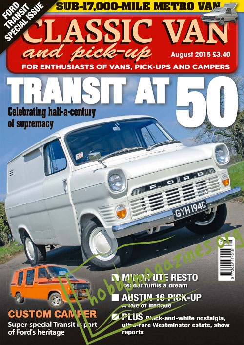 Classic Van & Pick-up - August 2015
