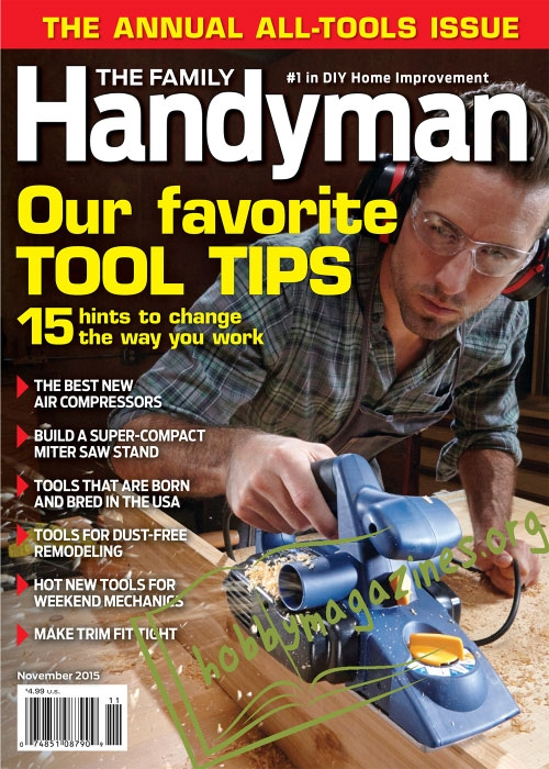 Family Handyman – November 2015