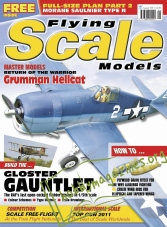 Flying Scale Models - August 2011
