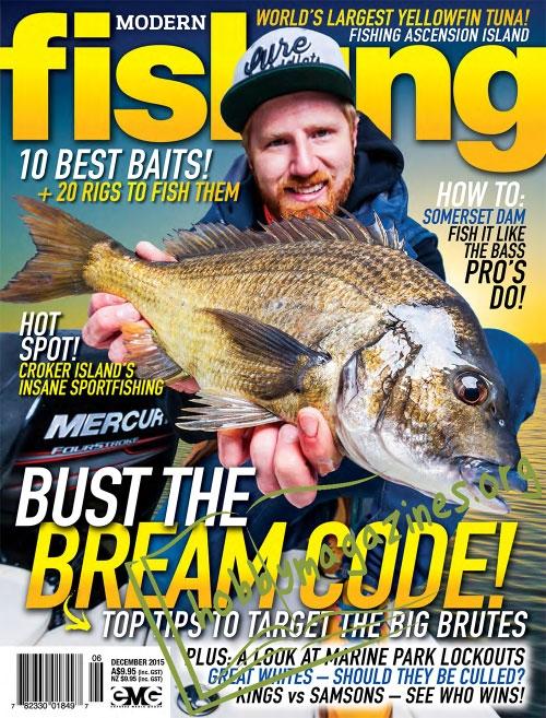 Modern fishing december 2015 hobby magazines free for Free fishing magazines