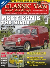 Classic Van & Pick-up – December 2015