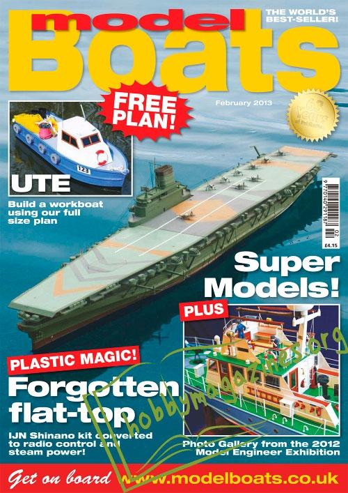 Model Boats February 2013 187 Hobby Magazines Free
