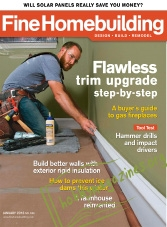 Fine Homebuilding - January 2016