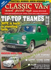 Classic Van and Pick-Up - January 2016