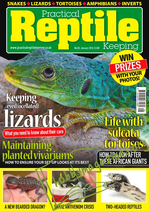 Practical Reptile Keeping - January 2016