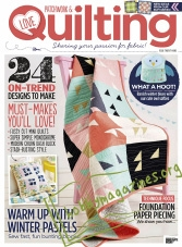 Love Patchwork & Quilting 29, 2015