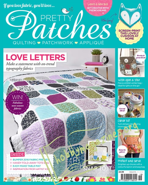 Pretty Patches - January 2016