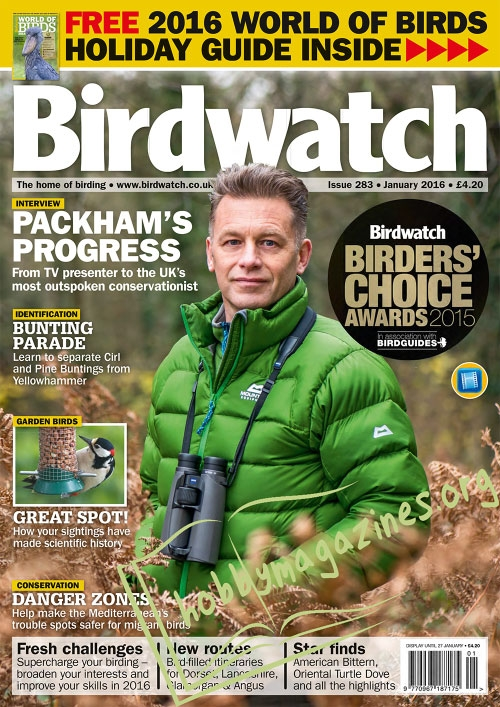 Birdwatch - January 2016