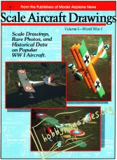 Scale Aircraft Drawings Vol.1 - World War I