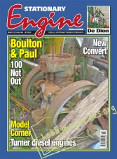 Stationary Engine – March 2016