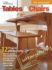 The Best of Fine Woodworking – Tables & Chairs Winter 2016