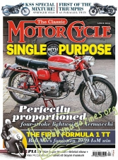The Classic MotorCycle - April 2016