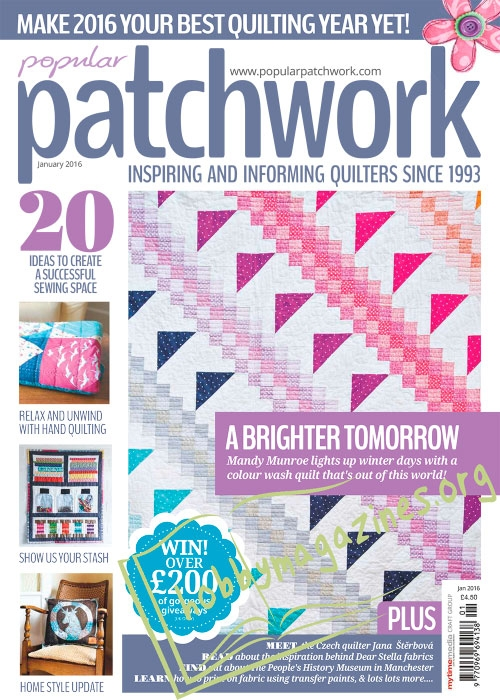 Popular Patchwork - January 2016