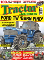 Tractor & Machinery – April 2016