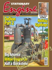 Stationary Engine – May 2016