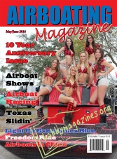 Airboating Magazine - May/June 2016