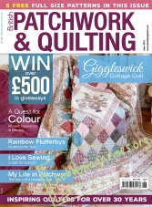 Patchwork and Quilting – June 2016