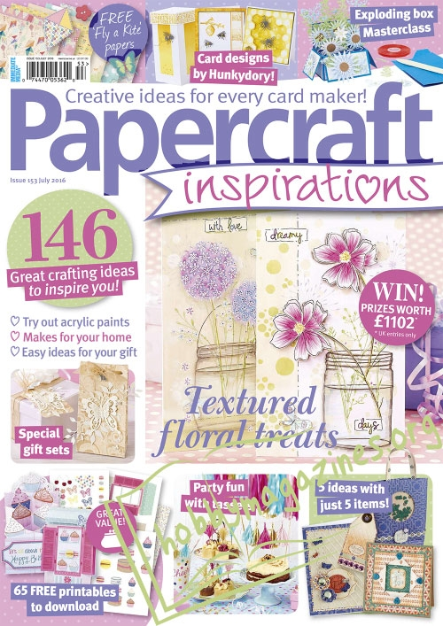 Papercraft Inspirations – July 2016
