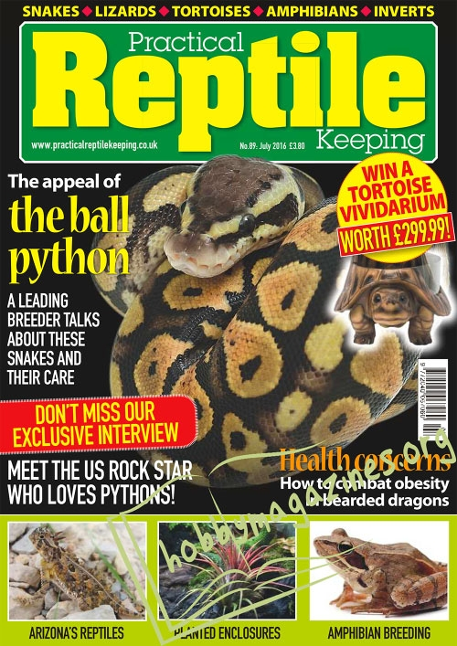 Practical Reptile Keeping – July 2016