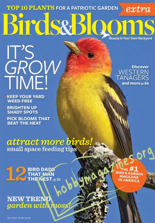 Birds and Blooms Extra – July 2016