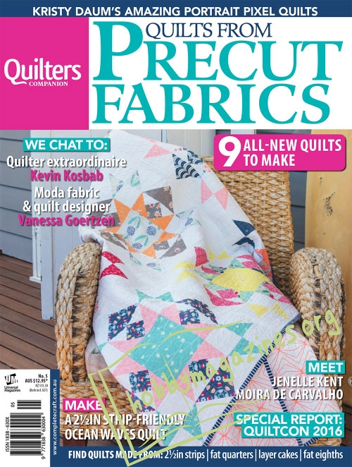 Quilts from Precut Fabrics – Issue 5 2016