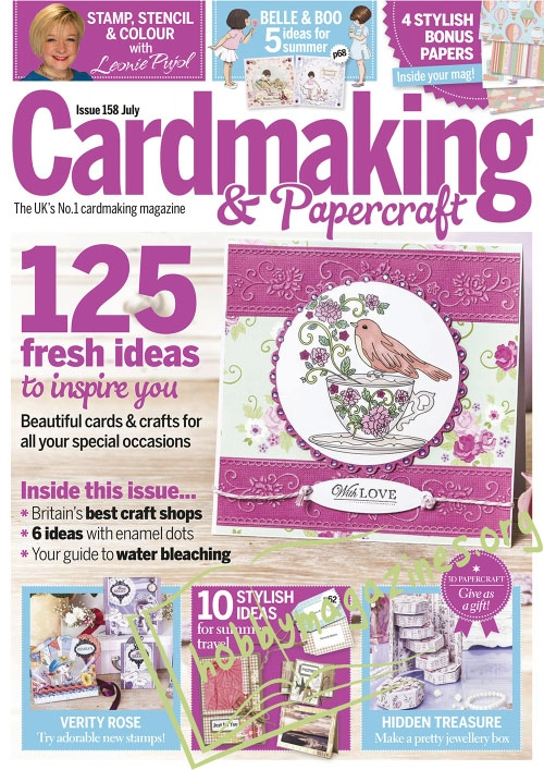 Cardmaking & Papercraft – July 2016