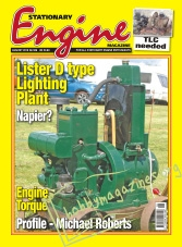Stationary Engine - August 2016 - Lister D Type Lighting Plant