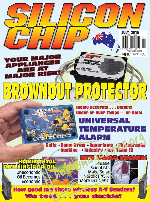 Silicon Chip - July 2016