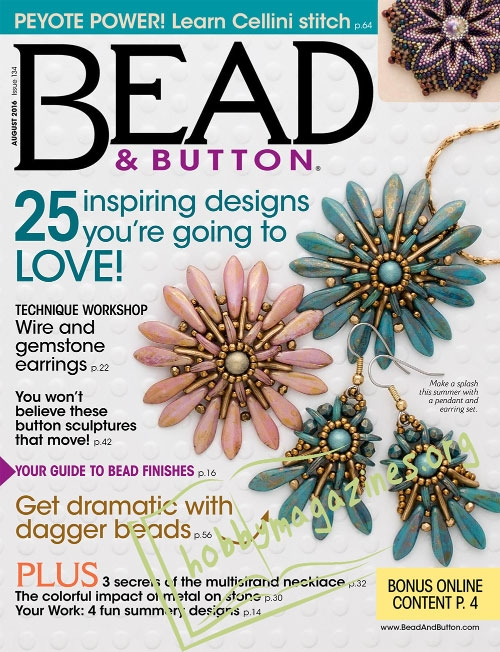 Bead & Button – August 2016