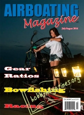 Airboating Magazine - July/August 2016