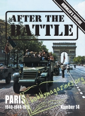 After the Battle issue 014 : PARIS 1940-1944-1976