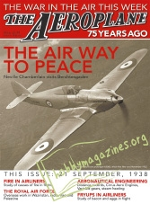 The Aeroplane 75 Years Ago Iss.01 - 21 September 1938