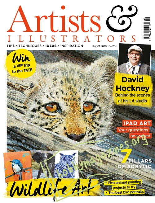 Artists & Illustrators - August 2016