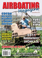Airboating Magazine - January/February 2011