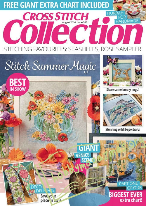 Cross Stitch Collection - August 2016