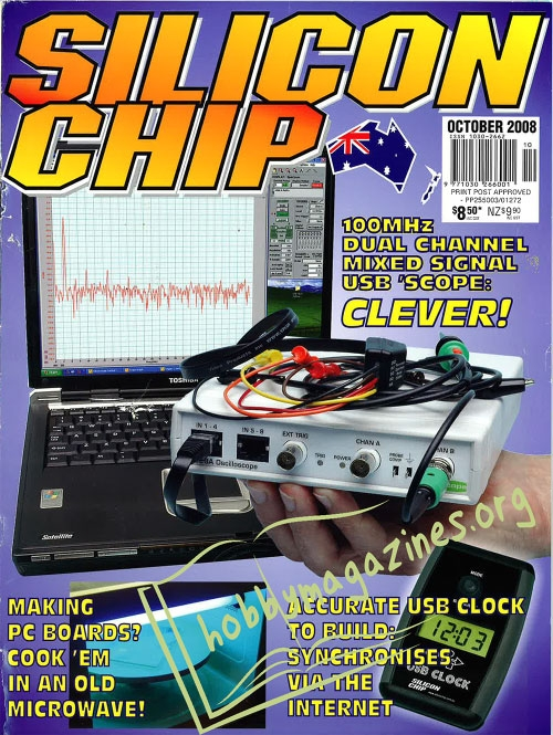 Silicon Chip - October 2008