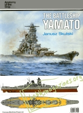Anatomy Of The Ship : The Battleship Yamato