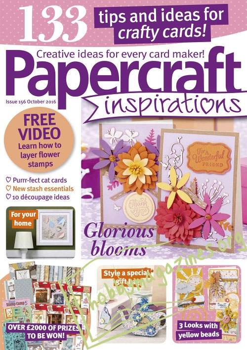 Papercraft Inspirations - October 2016