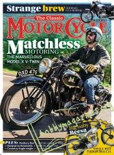 The Classic MotorCycle – September 2016