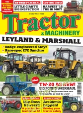 Tractor & Machinery – October 2016